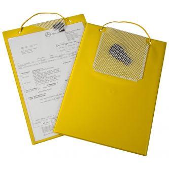 Porte ordre de réparation EREF jaune