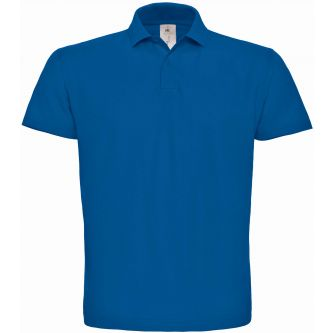 Polo homme manches courtes ID.001 PUI10 - Royal Blue