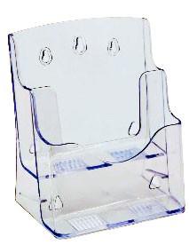 Présentoir plexiglas A5 2 compartiments ASK154 en vente chez Autosignalétique
