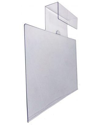 Affiche de prix plexiglas A4 horizontal de pare soleil à l'unité