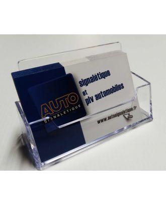 Présentoir de cartes de visite ASK500 avec cartes Autosignalétique