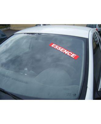 Autocollant Pare Brise Avantage rouge Essence