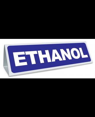 Triangle magnétique de toit Ethanol coloris bleu