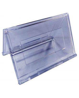 Porte carte de visite plexiglas 55 x 90 mm ASK770