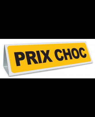 Triangle magnétique de toit Prix Choc Coloris jaune et noir
