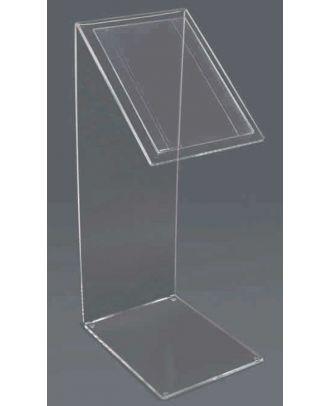 Présentoir A4 plexiglas sur pied SCOP2