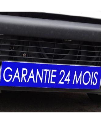 Cache plaque d'immatriculation avantage bleu Garantie 24 mois