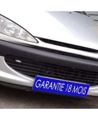 Cache plaque d'immatriculation avantage bleu Garantie 18 mois